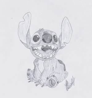 Disney Illustration Study: Lillo and Stitch, by Jo Linsdell #Disney #Sketches #Sketching