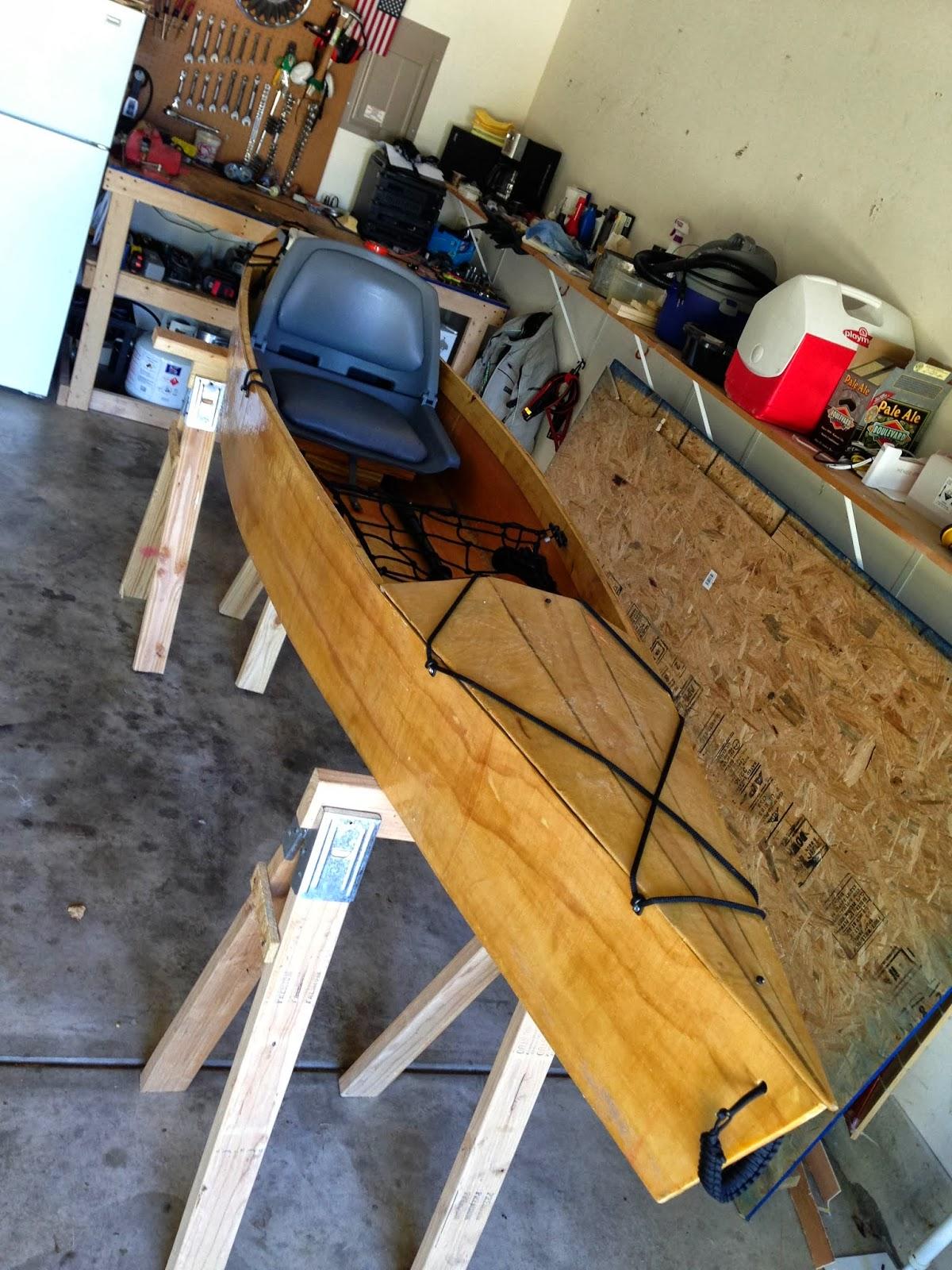 Drew's Projects: Stitch and glue kayak