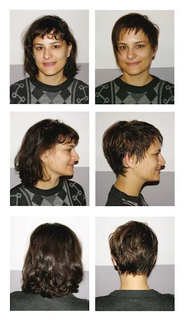 Adriana, venue de Nouvelle Zélande, avant et après sa visite au Studio 54, coupe et mèches effet naturel réalisées par Eddy, coiffeur à Montpellier, au Studio 54.