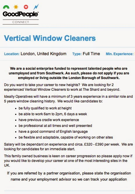 Robinson-Solutions Professional Window Cleaning: Wanted: Window