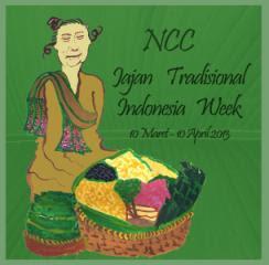 Jajan Tradisional Indonesia Week (JTIW) NCC