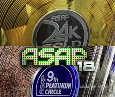 ASAP 18 24K Gold Awards and Platinum Circle Awards Winners