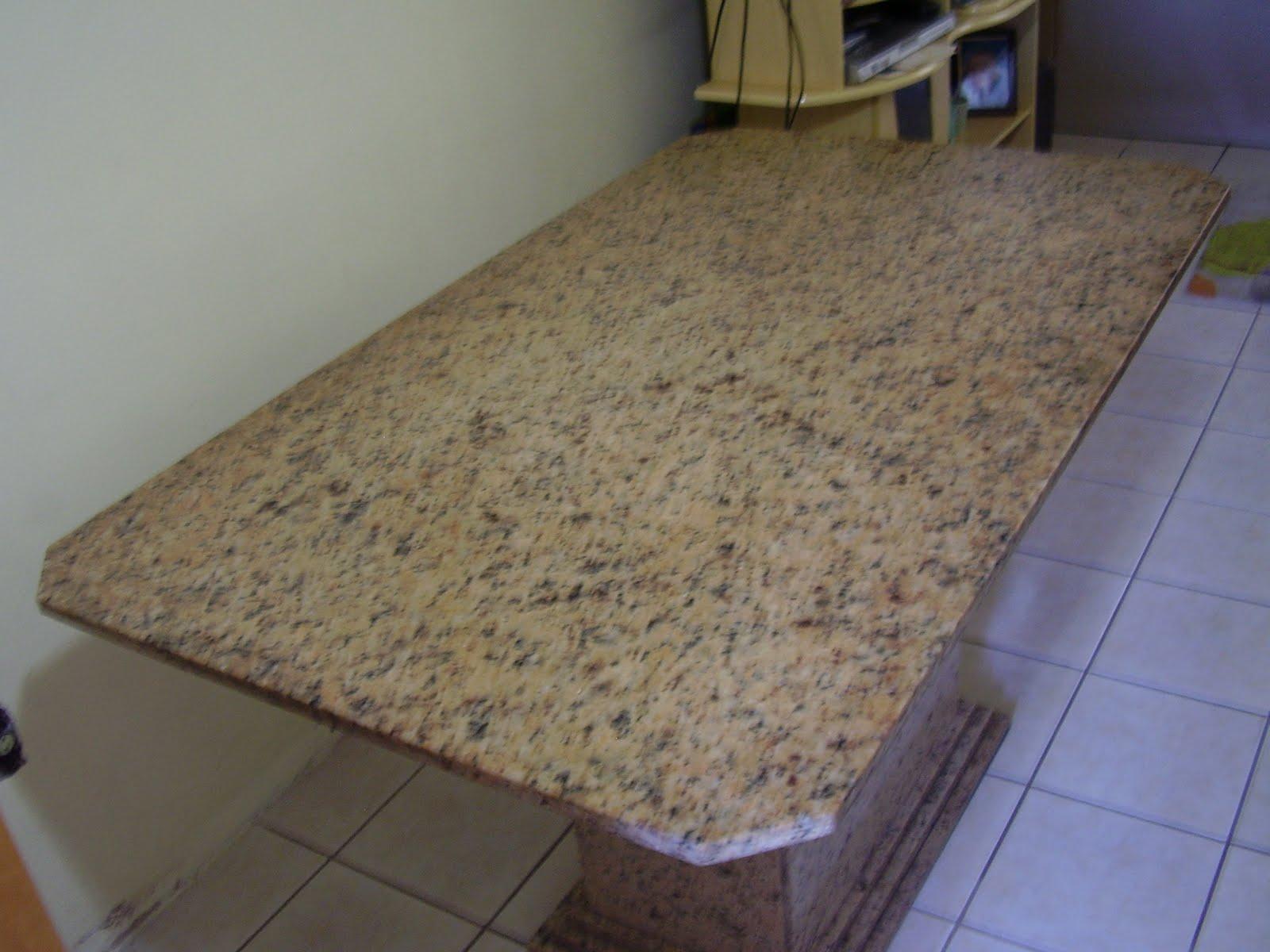 Lojinha da beta mesa em granito - Mesa de granito ...