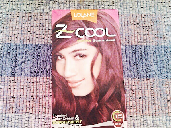 Review: Lolane Z-Cool Intensive Color Cream & Convenient Set in Mahogany Red Brown