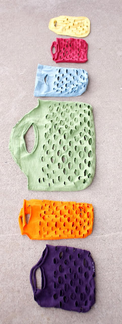 Easy Knit produce bag // www.deliacreates.com