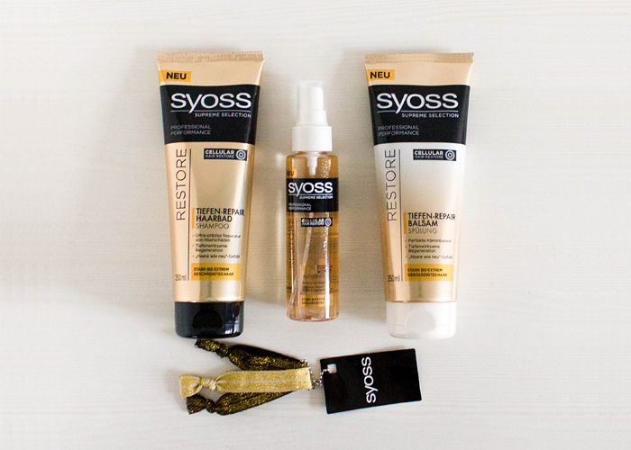 Syoss Supreme Selection Restore Haircare Line