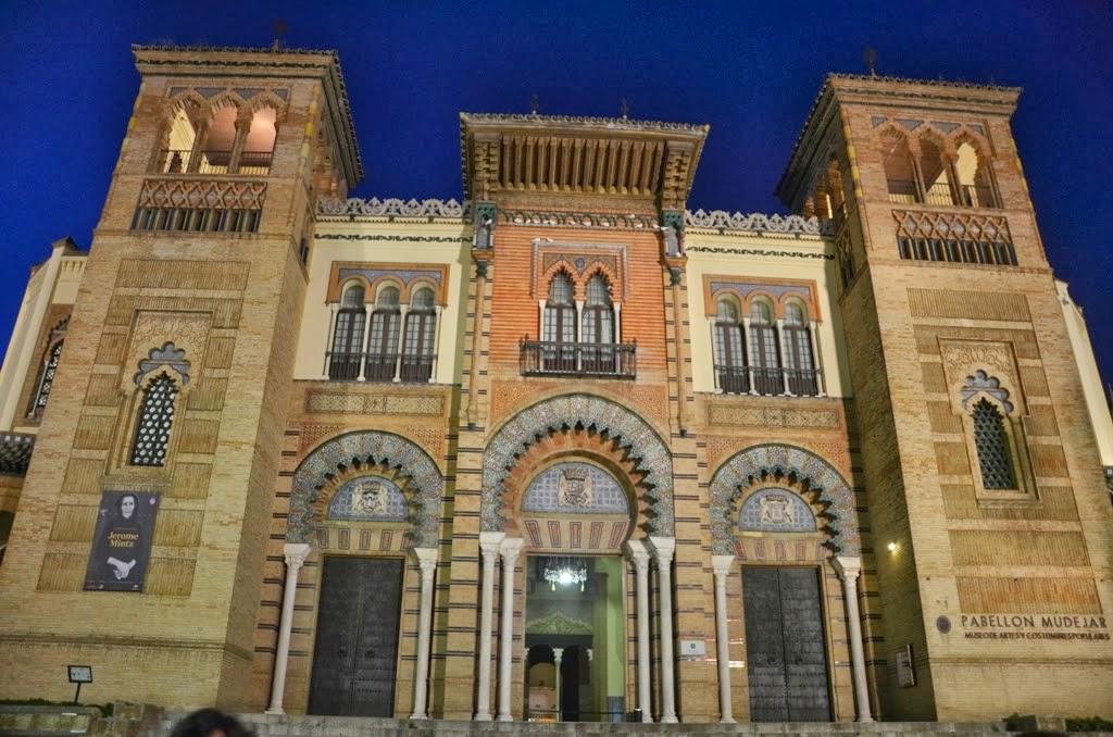 Pabellón Mudéjar - Plaza España - Sevilla