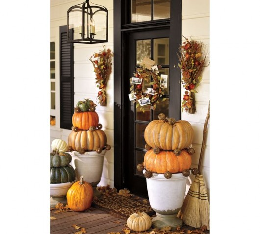Inspired Admired Autumn Halloween Door Decorating