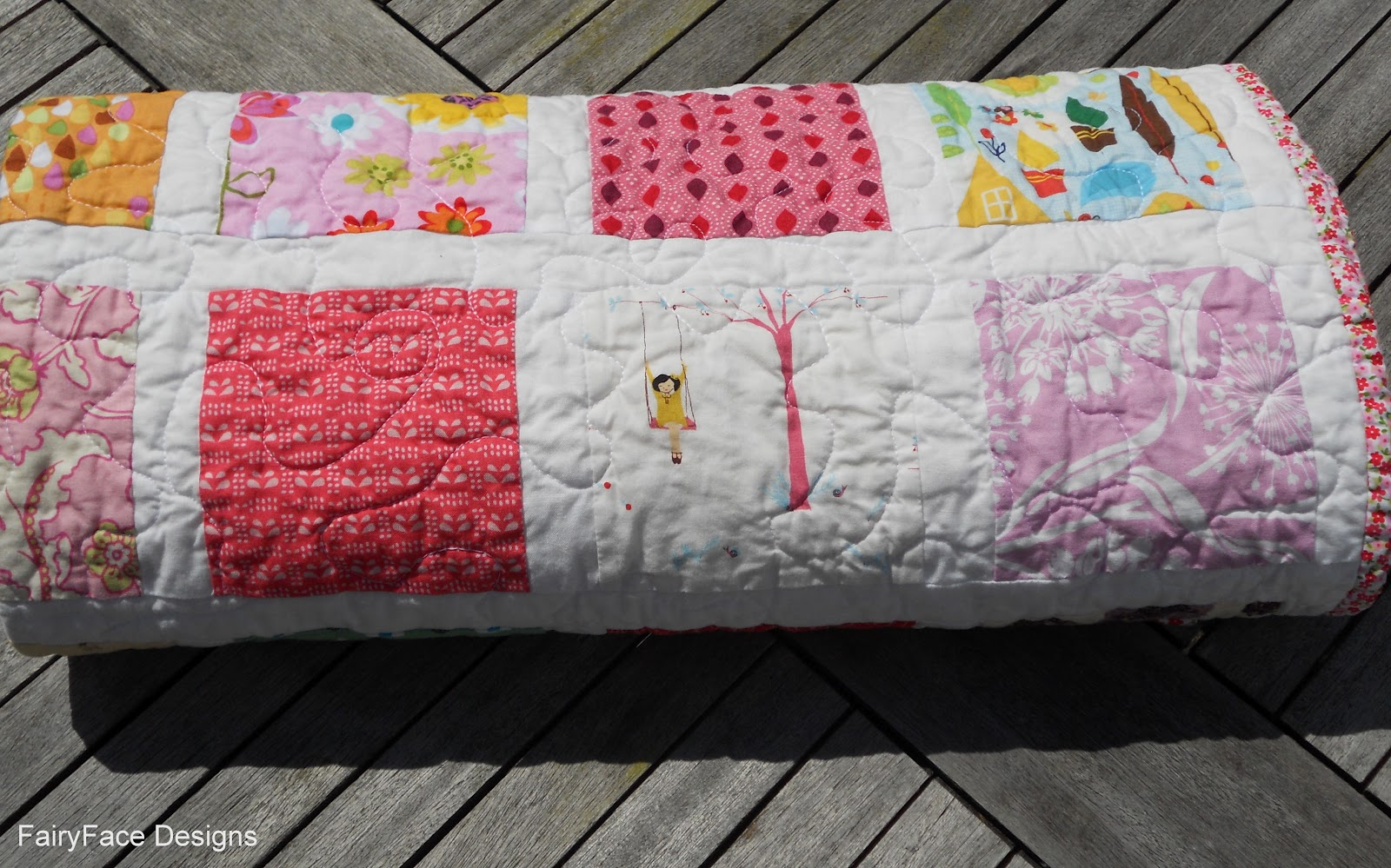 free tumbling leaves quilt block pattern