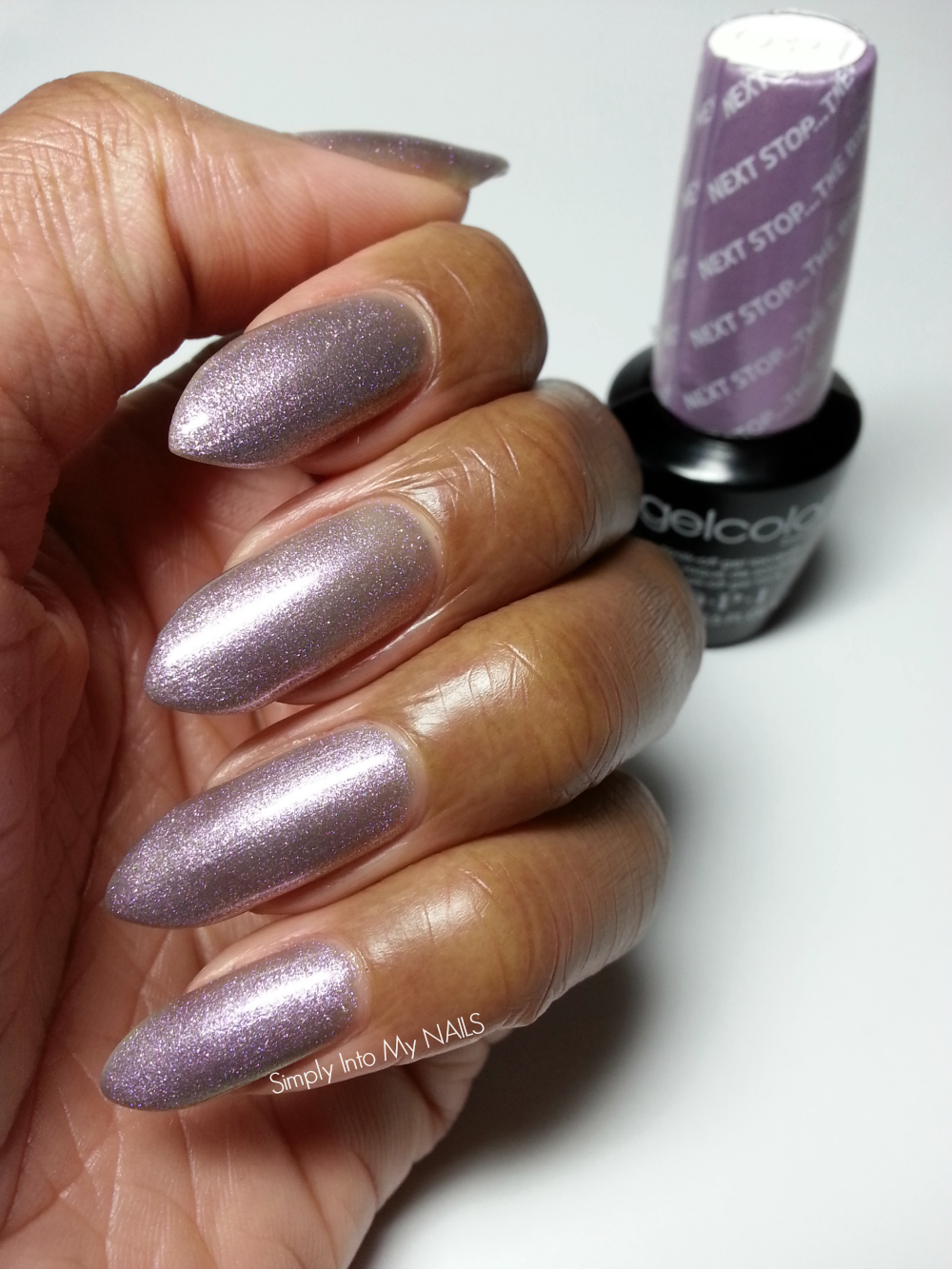 OPI Gelcolor Next Stop The Bikini Zone | Simply Into My NAILS