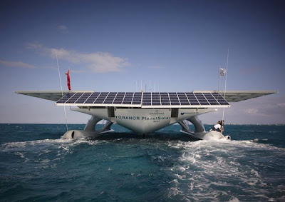 A Supersized Solar-Powered Catamaran, The Turanor PlanetSolar Seen On www.coolpicturegallery.us