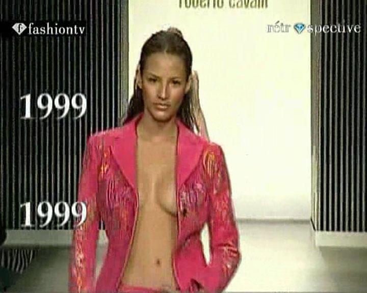 fashion model oops catwalk video