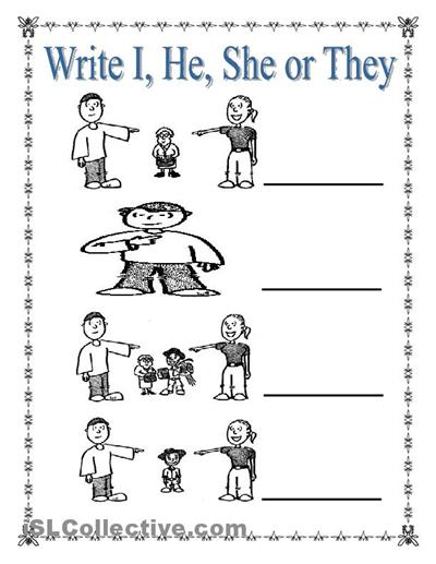 math worksheet : glitz learner hi u can get worksheets on different topics on  : Kindergarten Pronoun Worksheets