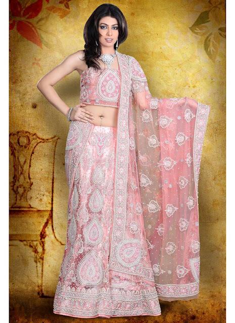 Pretty-Pink-Lehenga-Choli-Sarees