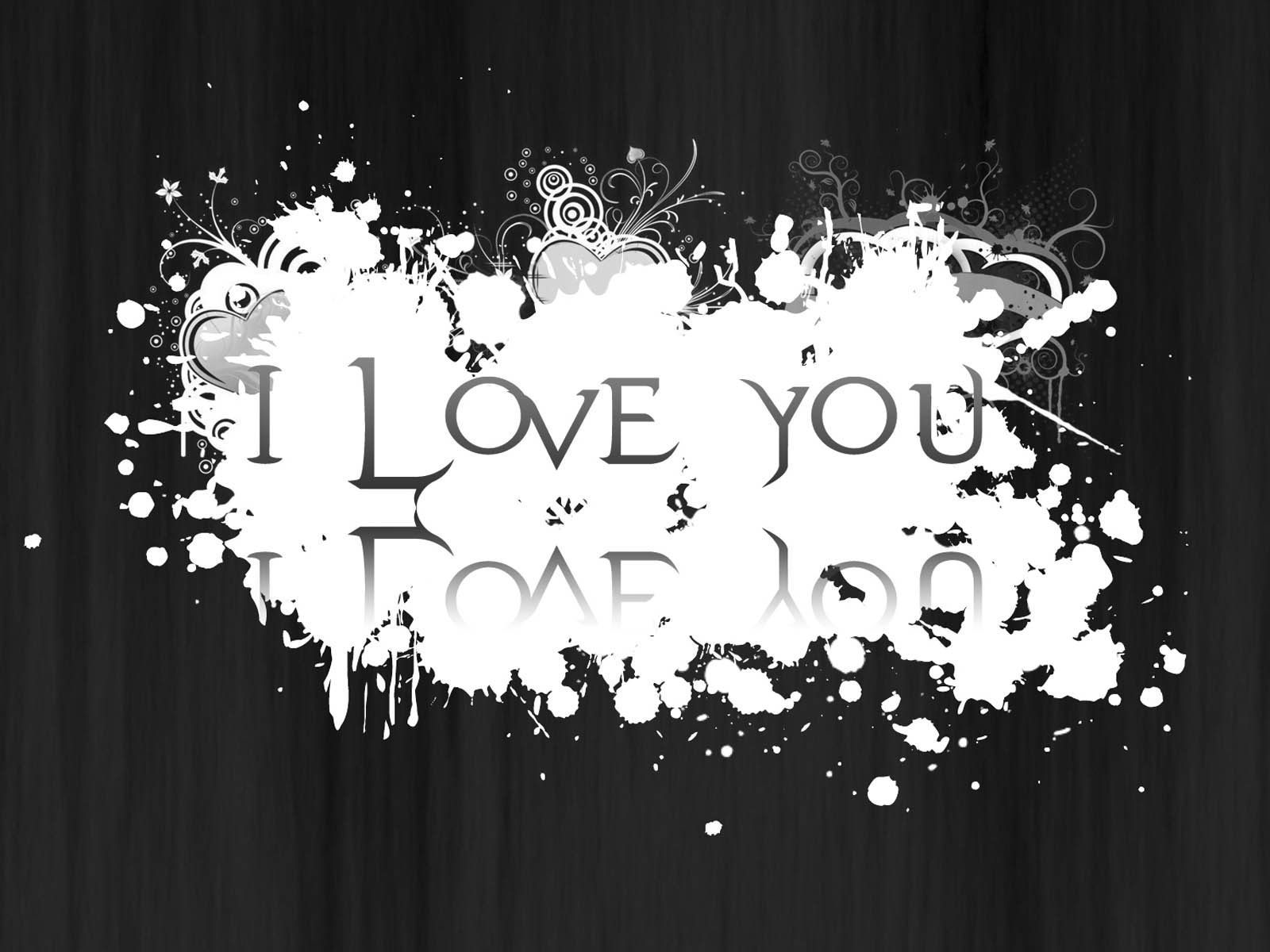 Love Wallpaper Black Background : wallpapers: Black and White Love Wallpapers