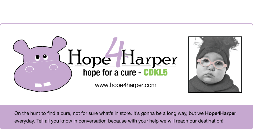 Hope4Harper Living with CDKL5 Disorder