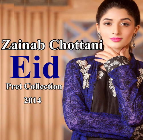 Zainab Chottani  Eid Collection 2014