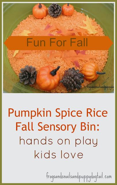 Fall Sensory Bin-Preschooler by FSPDT