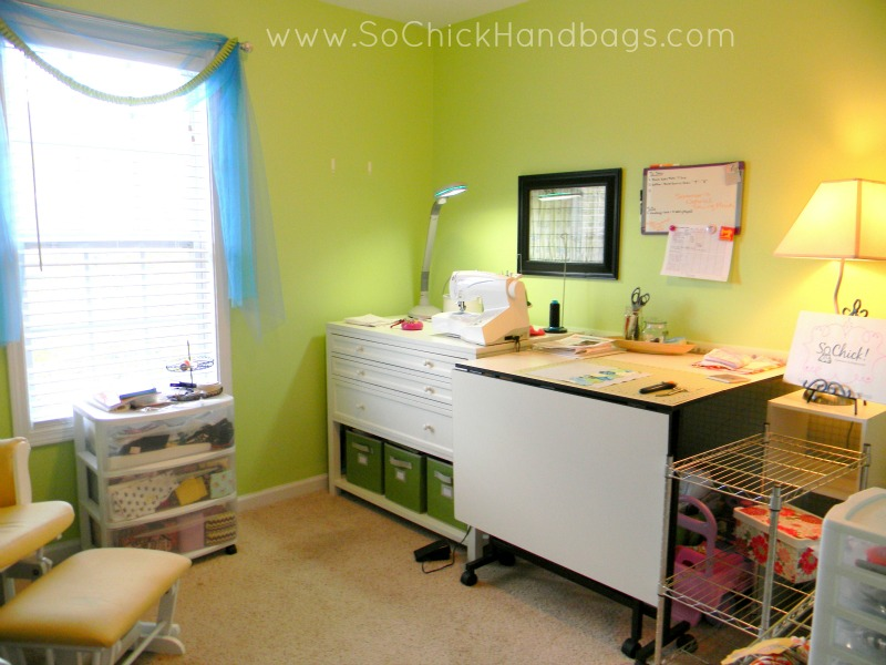 So chick the blog my new martha stewart craft cabinet a studio tour there is my martha stewart cabinet with my sewing machine on it its insane how much i can store in the drawers two of which have dividers watchthetrailerfo