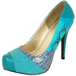 Teal Shoes Heels