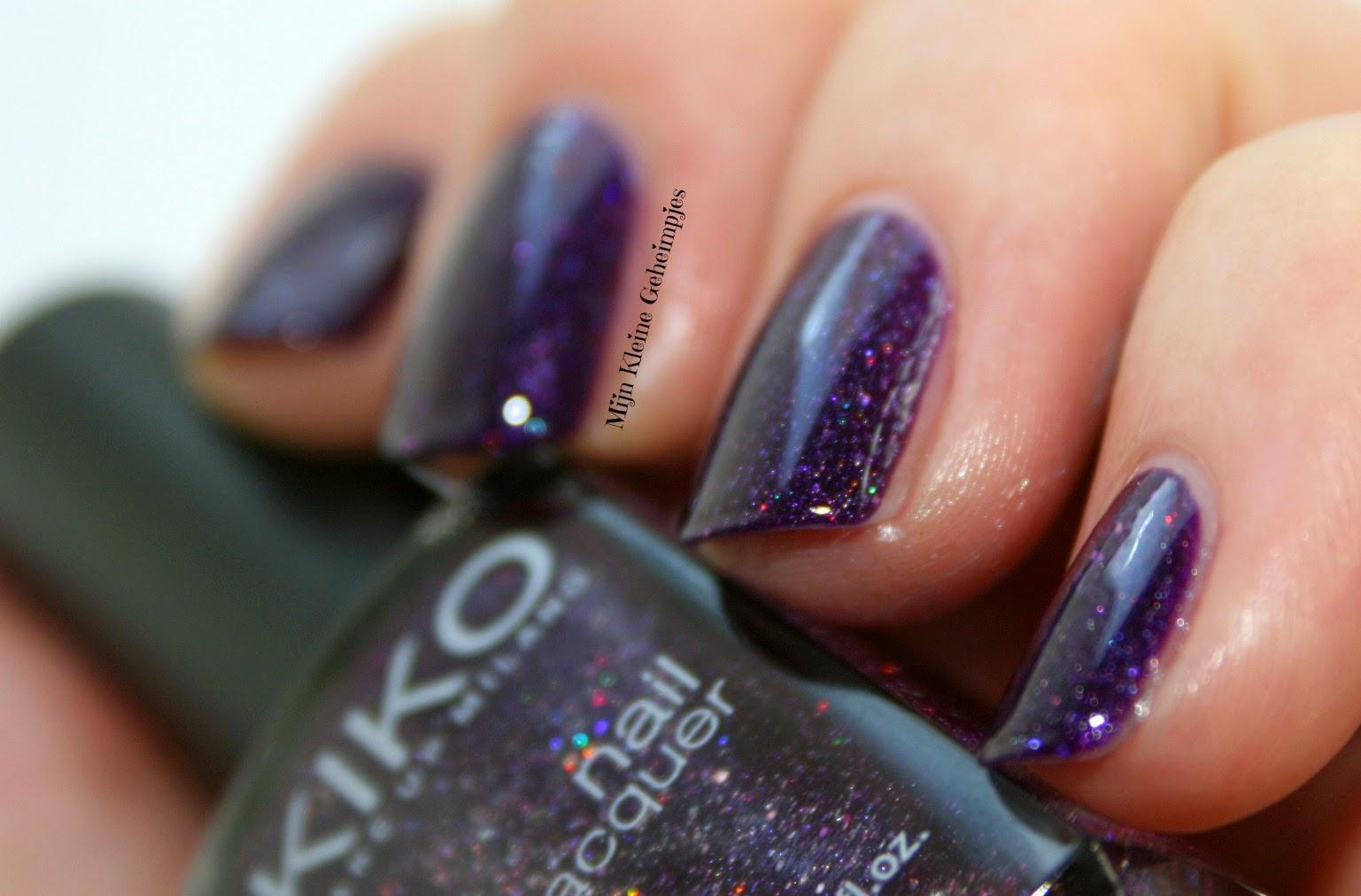 Kiko 255 Violet Microglitter