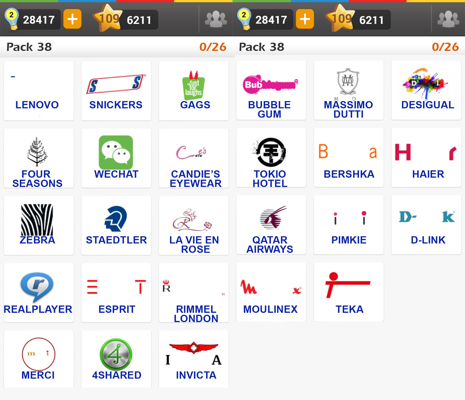 Logo%2BGame%2B%5BRegular%5D%2BPack%2B38%2Banswers Puzzle Game With Cars