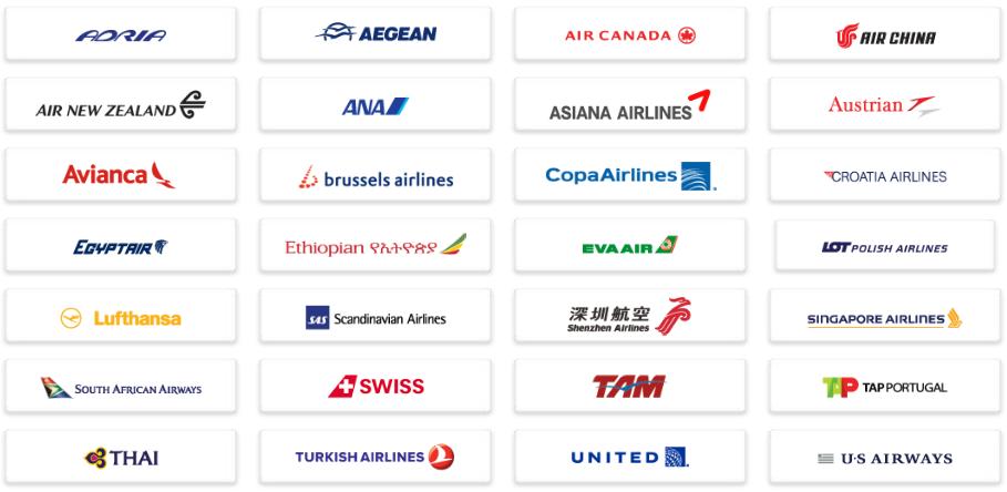 Star Alliance linie lotnicze