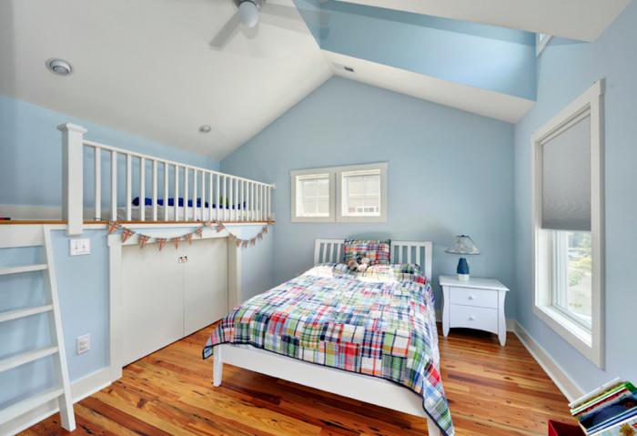 Cuartos juveniles en celeste y blanco dormitorios - Colores azules para habitaciones ...