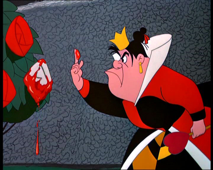 AuthorQuest: Analyzing the Disney Villains: The Queen of ... Queen Of Hearts Alice In Wonderland Disney
