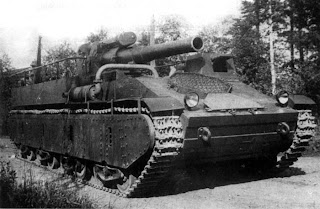Anpassung der Artys in Patch 8.6 auf Tier 10 SU-14_before_the_firing_test,_1934