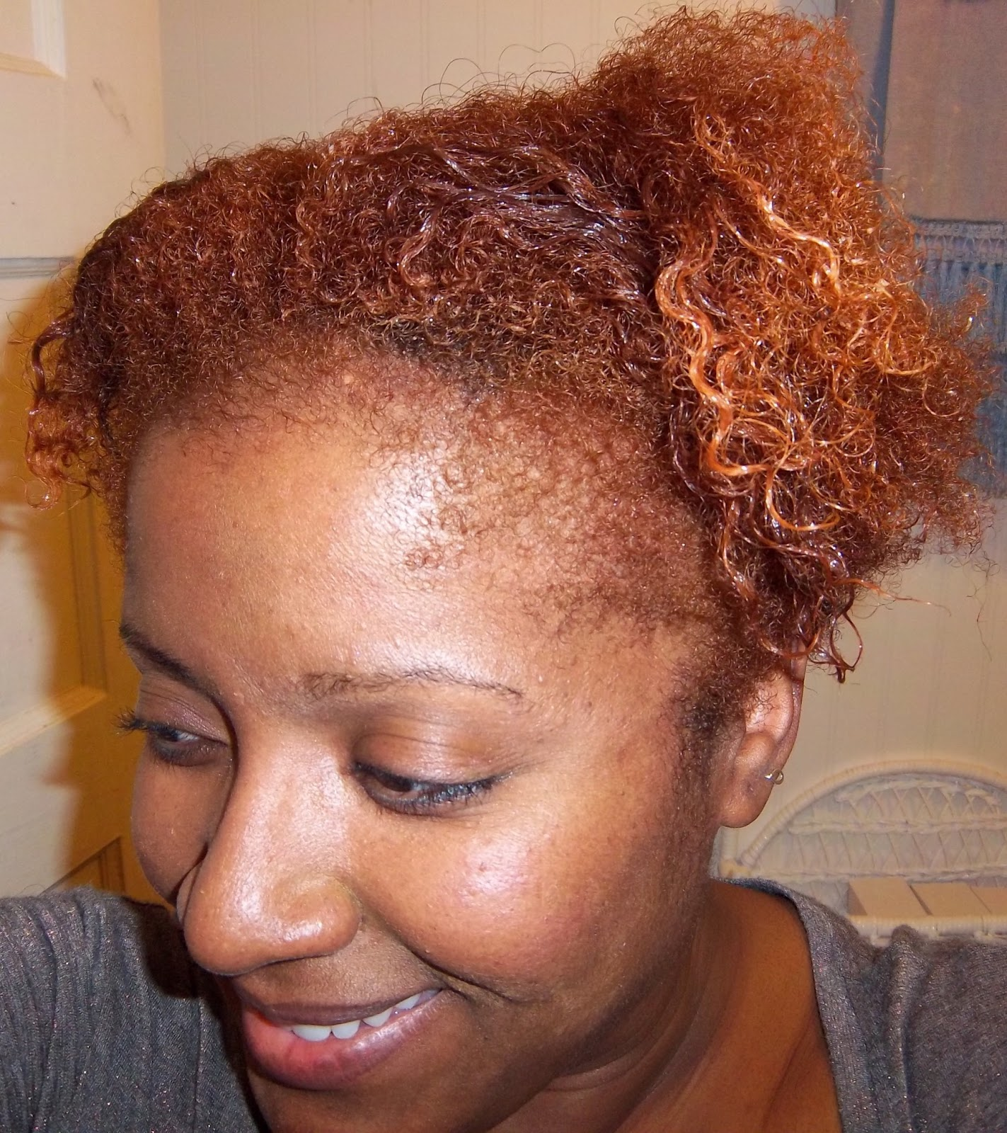Rural Glamour Natural Hair I Colored My 4c Hair With Clairol