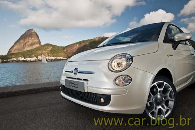 Novo Fiat 500 2012 - Rio de Janeiro