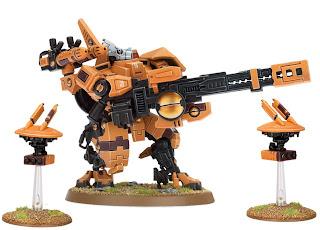 Tau XV88 Broadside Battlesuit