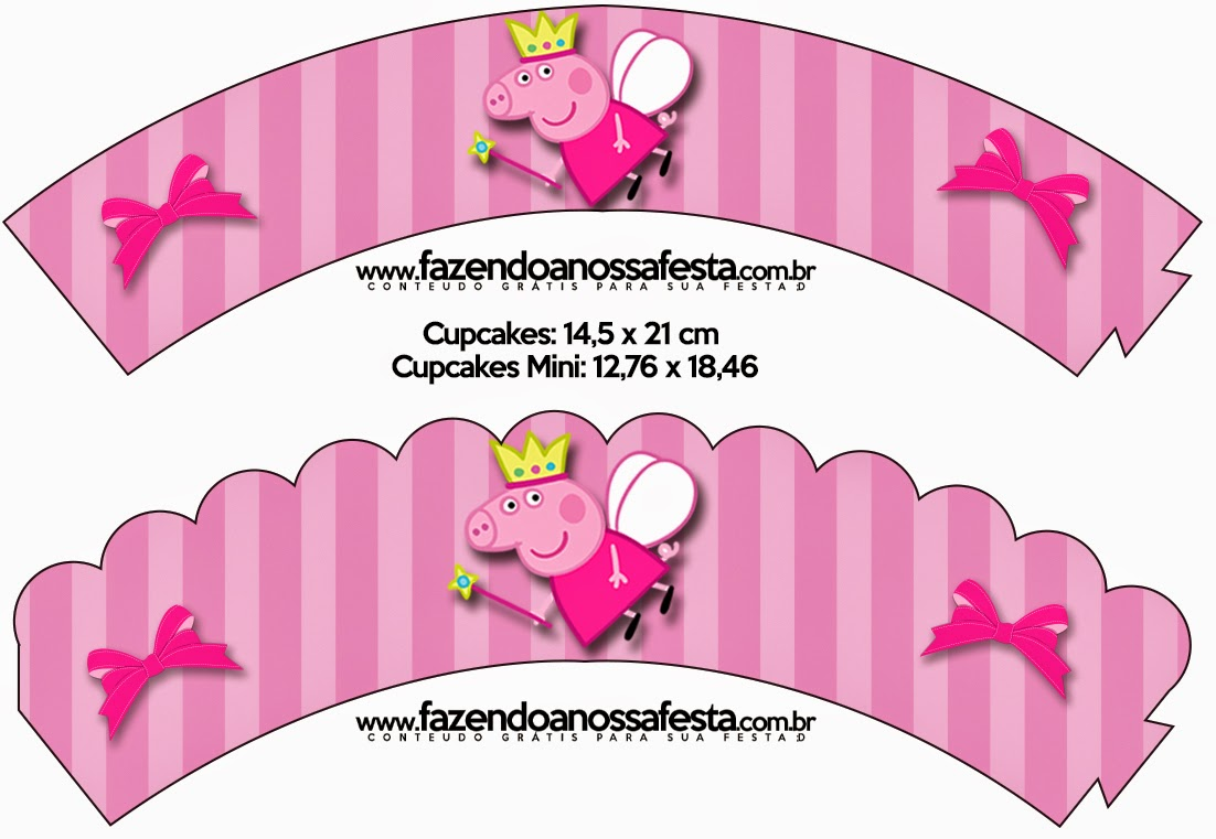 Peppa Pig Fairy: Free Party Printables, Images and Backgrounds. | Is ...