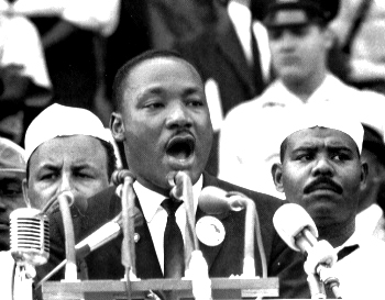 a biography of martin luther king jr an american freedom fighter against discrimination On december 1, 1955, an african-american seamstress named king expanded upon his call for equal rights by pointing out a link between discrimination and poverty he also in 1977 president carter posthumously awarded king the presidential medal of freedom martin luther king, jr.