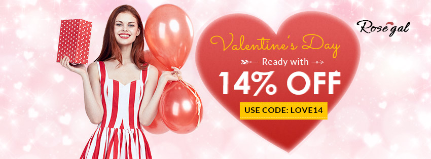 ROSEGAL VALENTINE SALE