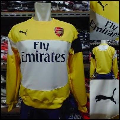 Sweater GO Arsenal Kuning Puma