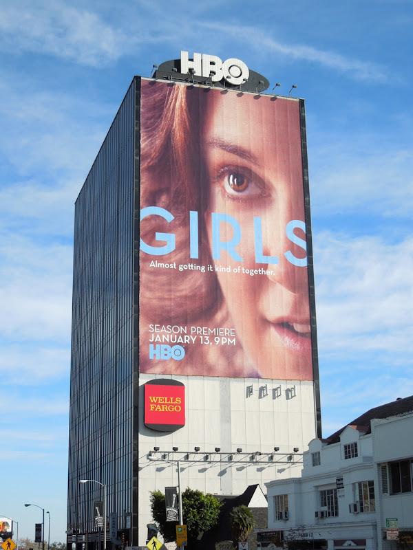 Girls season 2 giant billboard