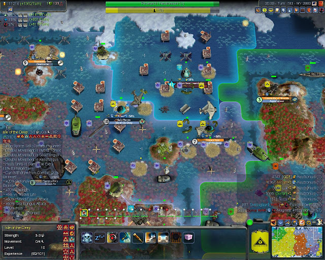 Civilization 4: Planetfall Mod - 12 Level Isle of the Deep Description