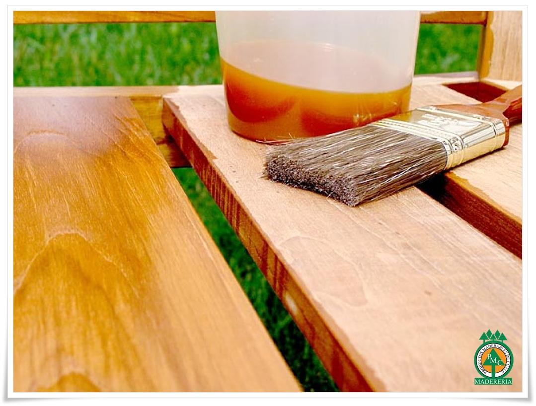 Productos maderables de cuale c mo sellar la madera de - Maderas el pino ...