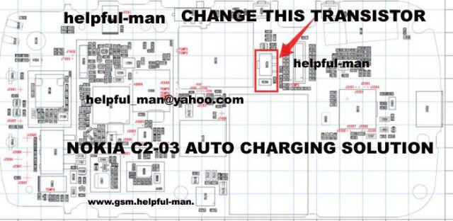 nokia c2-03 auto charging problem solution