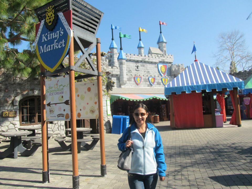 Legoland California King's Market Castle
