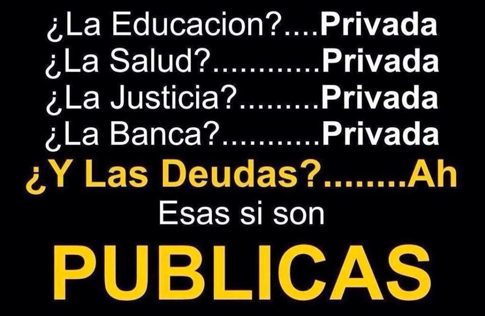 De público e privado...