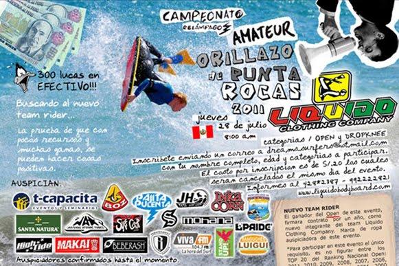 """CAMPEONATO AMATEUR: """"ORILLAZO DE PUNTA ROCAS 2011"""""""