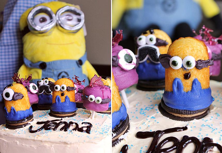 Minions Cake Toppers #MinionsMovieNight (Ad)