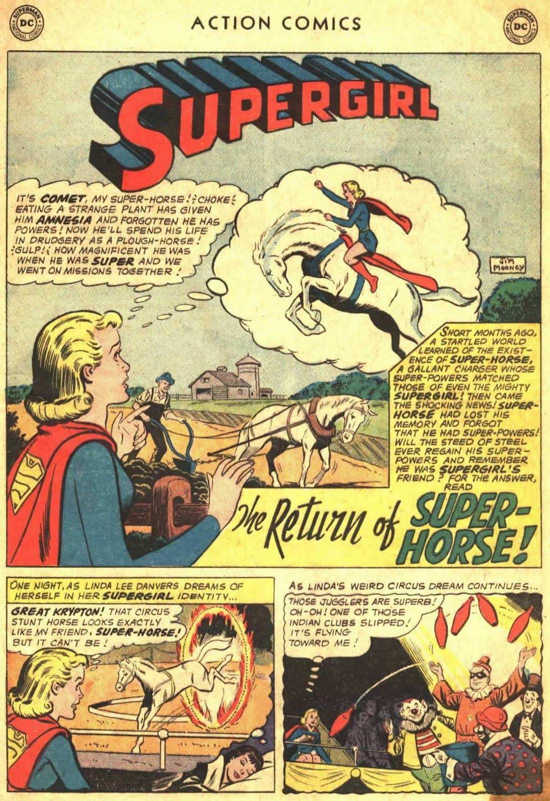 Action comics 300 the return of super horse