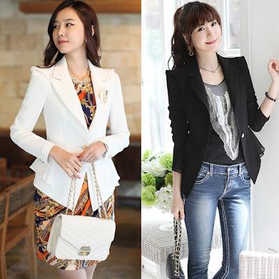 Model Desain Jas Korea Wanita Import Terbaru 2016