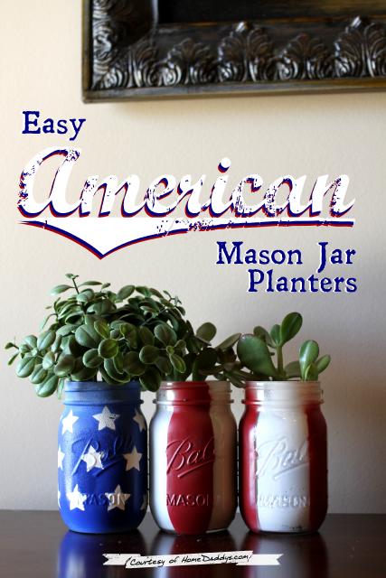 http://www.sweetbellaroos.com/2014/06/04/easy-american-mason-jar-planters-tutorial/