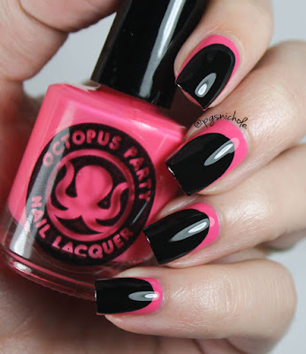 Octopus Party Nail Lacquer Malibu Stacy's Mom Ruffian