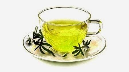 Chá seca barriga caseiro